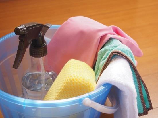 お風呂掃除の道具